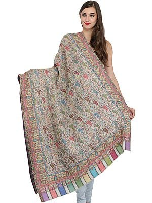 Kani Jamawar Paisleys Shawl from Amritsar