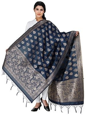 Dupatta from Gujarat with Brocaded Bootis