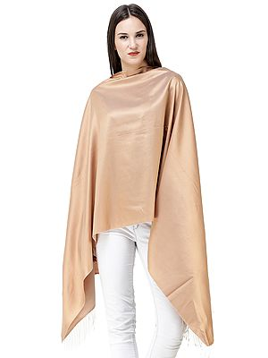 Reversible Super Silk Plain Stole