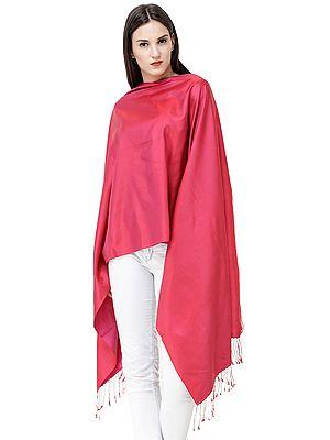 Reversible Super Silk Plain Stole