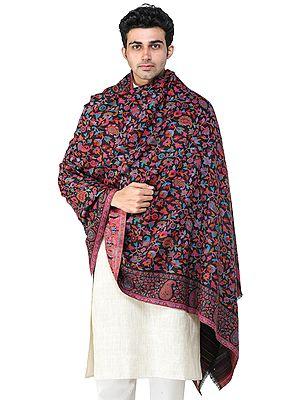 Men's Jamawar Shawl from Amritsar with Kani Weave