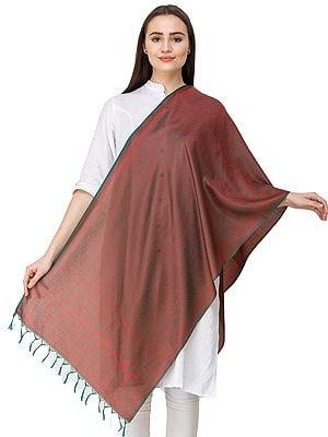 Banarasi Scarf with Tanchoi weave