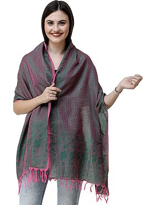 Banarasi Scarf with Tanchoi weave