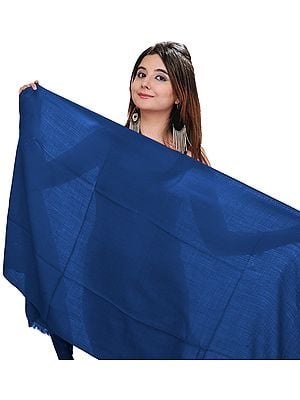 Plain Pure Pashmina Stole from Nepal