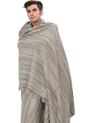 Gray Men's Dushala from Kullu