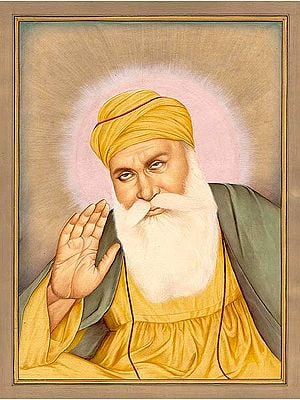 Guru Nanak, The First Sikh Guru. (15 April 1469 – 22 September 1539)
