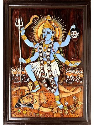 Goddess Kali (Framed)
