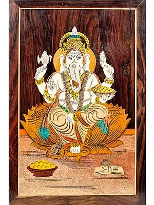 Bhagawan Ganesha (Unframed)