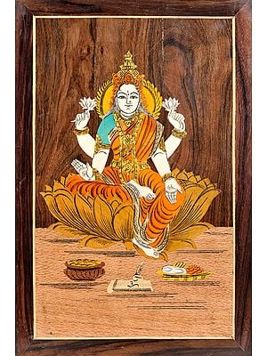 Goddess Lakshmi (Unframed)
