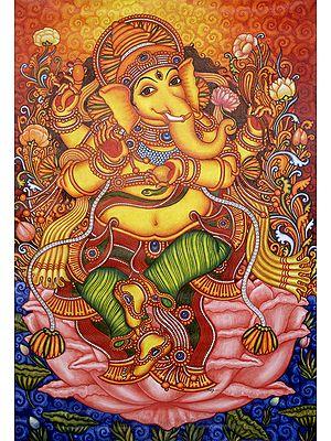 Nritya Ganesha, Dancing Against The Sunset