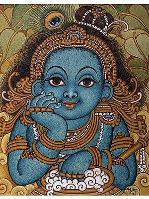 Cute Butter Krishna