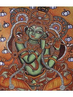 The Omniscient Gaze Of Lord Krishna