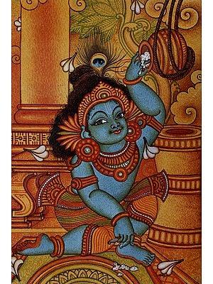 Lover Of Makkhan Lord Gopala