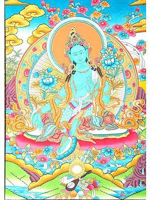 Tibetan Buddhist Deity Green Tara - The Beauty of Enlightenment