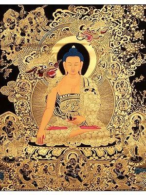 Temptation Of Shakyamuni Buddha By Mara - Tibetan Buddhist