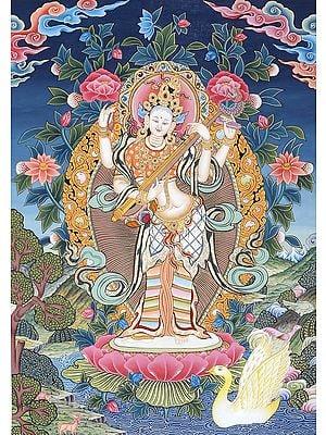The Sound Of Devi Sarasvati's Veena