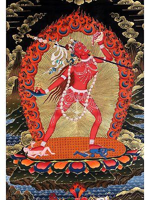 Superlarge Sarvabuddha Yogini (Tibetan Buddhist)