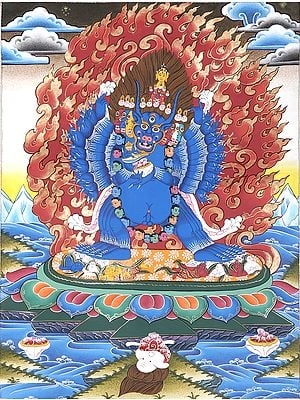 Tibetan Buddhist Yamantaka - Encounter with Death