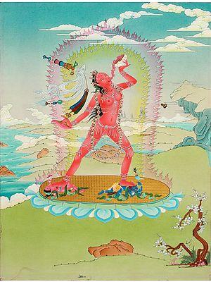 Tibetan Buddhist Superfine Sarvabuddhadakini (Naro Dakini): The First Feminist