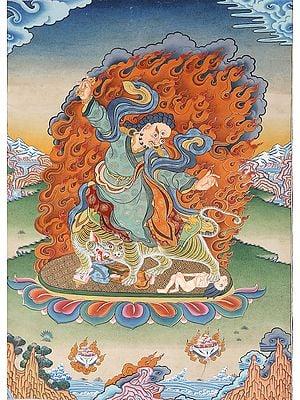 Tibetan Buddhist Lama Guru