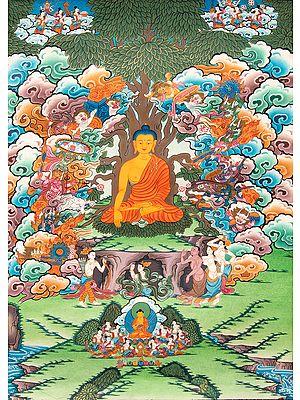 Mara's Temptation Of Shakyamuni