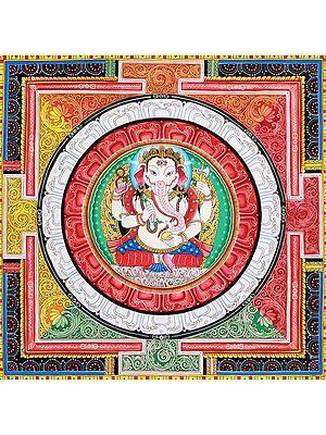 Lord Ganesha Mandala