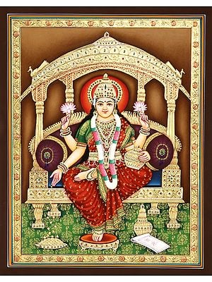 The Divine Glamour Of Devi Lakshmi