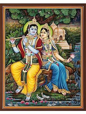 Nidhivana Radha-Krishna