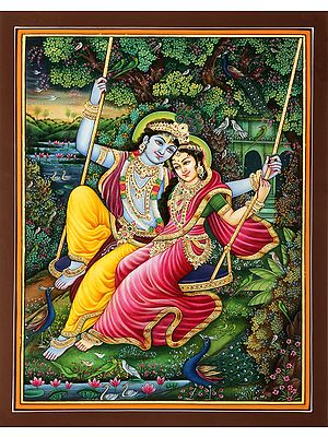 The Undying Togetherness Of Radha-Krishna
