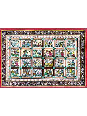 Life Events of Lord Krishna