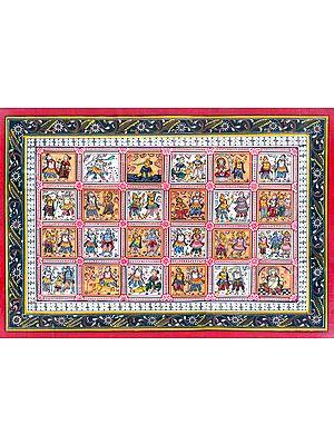 Leelas of Brahma Vishnu Mahesh (Trinity God)