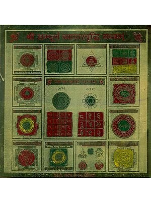 Shri Sampurna Vyapaar Vriddhi Yantram (Yantra for Success in Business and Trade)