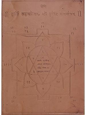 Dvatrim Shadvrantamkam Shri Narasimha Maha Yantram
