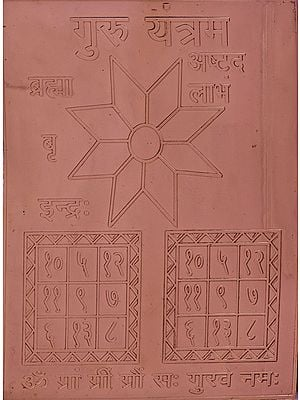 Guru Yantram (Navagraha Yantra)