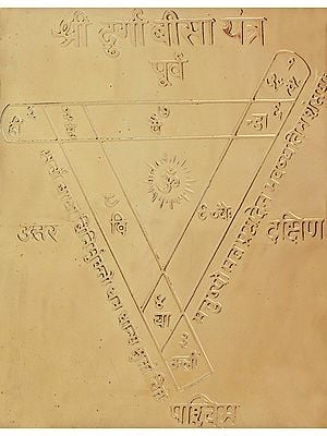 Shri Durga Bisa Yantra - A Powerful Yantra for Conquering Enemies