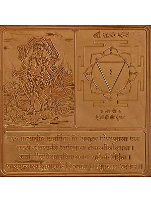 Shri Tara Yantra (Ten Mahavidya Series)