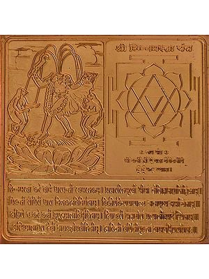 Shri Chinnamasta Yantra (Ten Mahavidya Series)