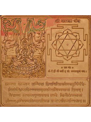 Shri  Kamala Yantra (Ten Mahavidya Series)