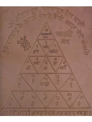 Maruti Yantra (Yantra Makes Courageous, Healthy and Free from Grave Dangers)
