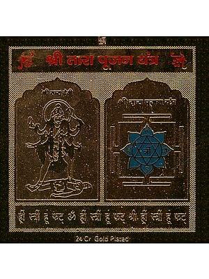 Shri Tara Pujan Yantra