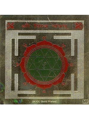 Shri Shiva Yantra (For Worship of Shiva)