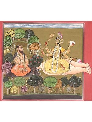 The Goddess Worshipped by Rishi Chyavana