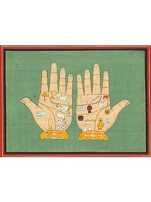 The Lotus Handprints of Lord Caitanya Mahaprabhu