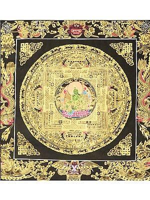 Tibetan Buddhist Goddess Green Tara Mandala