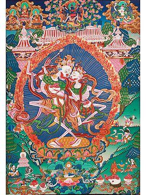 Citipati: The Protectors of Cemetery (Tibetan Budddhist)