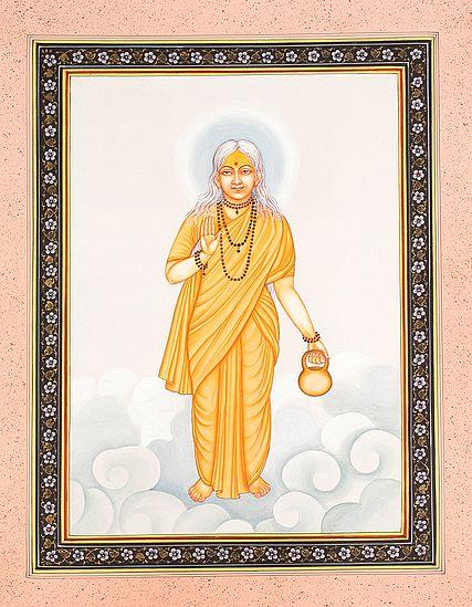 Devi Poornima With The Golden Brow