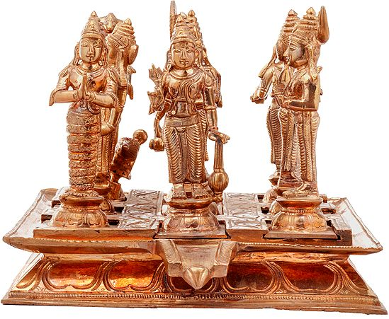 Navagraha (The Nine Planets) - With Each Deity Facing the Correct Direction, Highly Auspicious and Suitable for Rituals and Worship of Navagraha