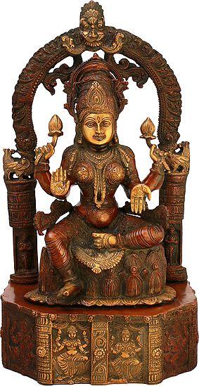 Goddess Lakshmi as Devi Padmavati