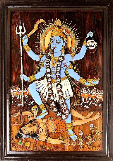 Goddess Kali (Framed)