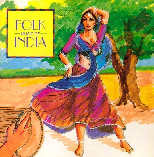 Folk Music of India (Audio CD)